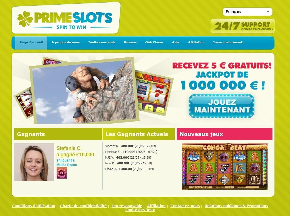 Primeslots com