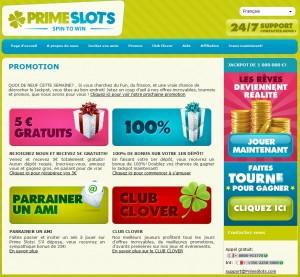 primeslots promotions 300x277 Les promotions de PrimeSlots