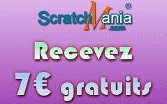 grattage gratuit sur ScratchMania